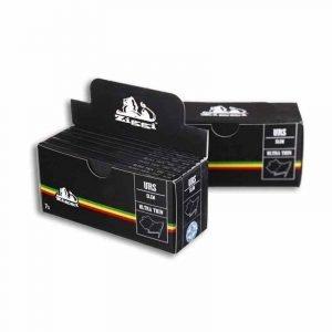 Black with Rasta Stripes 7 Pack